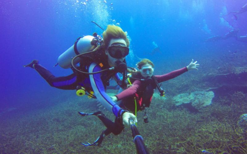 Actividades de submarinismo